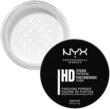 NYX Professional Makeup Studio Finishing Powder Translucent Finish, 0.21 Oz