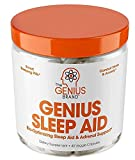 Genius Sleep AID - Smart Sleeping Pills & Adrenal Fatigue Supplement, Natural Stress, Anxiety & Insomnia Relief - Relaxation Enhancer and Mood Support w/Inositol, L-Theanine & Glycine - 40 Capsules