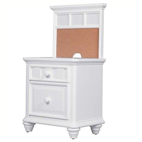 Samuel Lawrence Furniture SummerTime Nightstand in White by Samuel Lawrence Furniture
