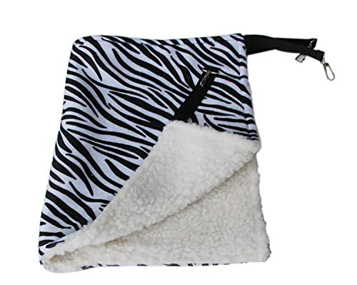Cat Hammock Mat Hanging Bed Small Dog Puppy House Pet Rest - Shoe Zebra Bobs