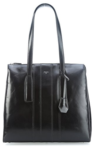 PICARD - Shopper WANTED schwarz, 4548
