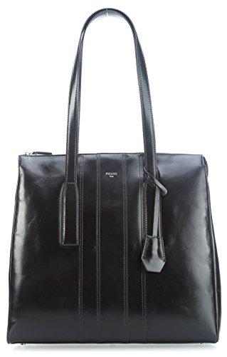 PICARD - Shopper WANTED schwarz, 4548
