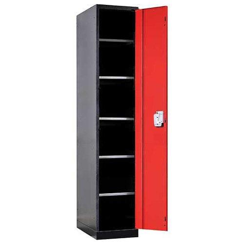Fort Knox Locker Cabinet Single Door 6 Openings 18