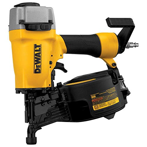 Dewalt DW66C-1R 15 Degree 2-1/2 inches Coil Siding Nailer (Renewed)