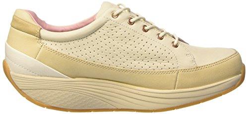 Femme Pink Saida Birch Rucksack Beige Chaussures MBT White Rose Almond Basses S6pwztx