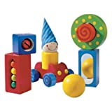 : HABA First Blocks - Each One with a Visual or Acoustic Surprise for Ages 1 and Up (Made in Germany)