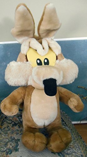 Vintage Looney Tunes Loveable Plush: Baby Wile E. Coyote