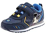 Disney Mickey Mouse Boys Light up Athletic/Sneakers Toddler/Little Kid (9 M US Toddler)