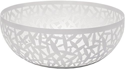 """Alessi MSA04/29 W""""CACTUS!"""" Fruit Holder in Steel Coloured With Epoxy Resin, Super White"""