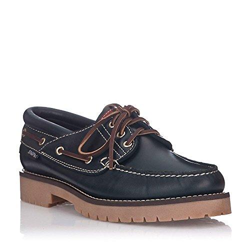 Zapatos Snipe Náuticos Azul Marino Marrón fqTwf