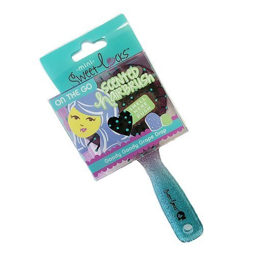 Sweetlocks - Mini Scented Brush - Goody Goody Grape Drop