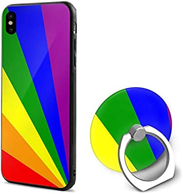 gay pride iphone xs case