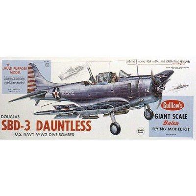 Guillow's Douglas SBD-3 Dauntless Model Kit