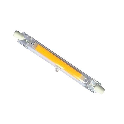 R7s Bombilla LED de 118 mm, 10 W, R7S, no regulable, 6000