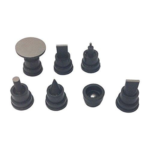 7 Piece Micrometer Tip Anvil Attachment Set Precision Ground