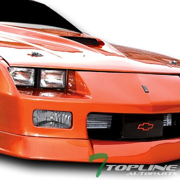 Topline Autopart Depo Chrome Clear Lens Front Signal Bumper Lights Lamps 85-92 Chevy Camaro Z28