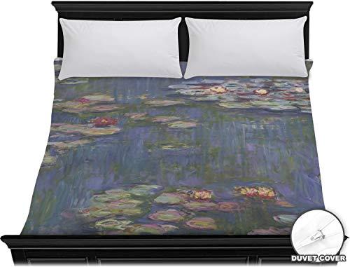 Amazon com: RNK Shops Water Lilies by Claude Monet Duvet Cover