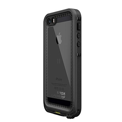 LifeProof NÜÜD SERIES Waterproof Case for iPhone 5/5s/SE - Retail Packaging - BLACK (BLACK/SMOKE) by LifeProof (Image #3)