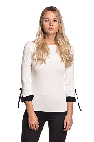 Abbino 6163-1 Camisas Tops para Mujeres - Hecho en ITALIA - 4 Colores - a9d90b83993a