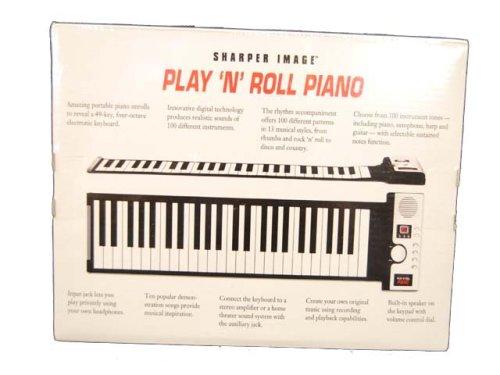 Amazon.com: Sharper Image Play N Roll Digital Piano Gu001: Musical Instruments