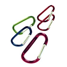 Outdoor Products Carabiner Multi Pack Set, Multi