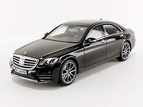 Norev NV183483 Black 1:18 2018 Mercedes-Benz S-Class AMG-Ruby Metallic
