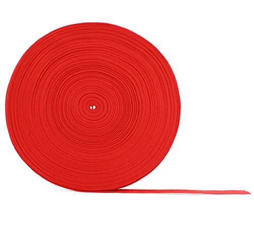 Red Polypropylene Webbing 50 Yards x 1-inch; 1