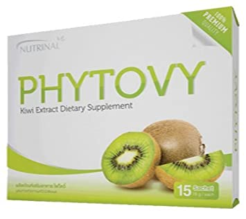 Nutrinal Phytovy Kiwi Extract Dietary Supplement Colon Detox Cleanse Dietary Supplement