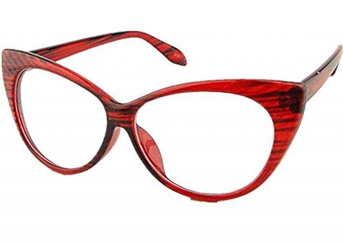 Mogor Women's Fashion Cat Eye Eyeglasses Frame Retro Style - Vintage Retro Eyeglasses