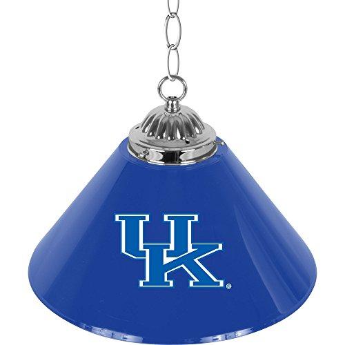 Trademark Gameroom University of Kentucky Single Shade Chrome Bar Lamp, 14-Inch -