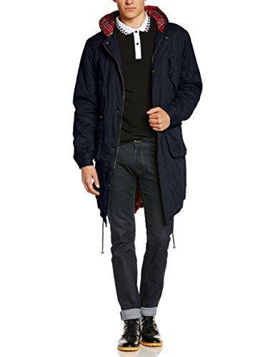 Merc of London Men's Tobias Parka Long Sleeve Coat: Amazon.co.uk ...