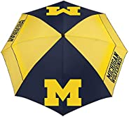 "NCAA Michigan Wolverines 62"" Windsheer Lite Golf Umbrella62 Windsheer Lite Golf Umbrella, Mult"