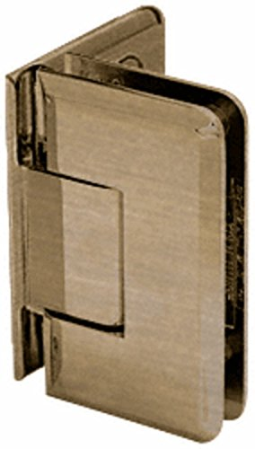 Crl Antique Brass Cologne - CRL Antique Brass Cologne 044 Series Wall Mount Offset Back Plate Hinge