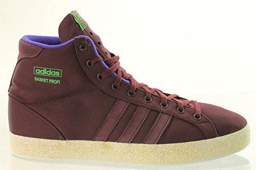 adidas panier Profi baskets unisexes chaussures de basket-ball rouge