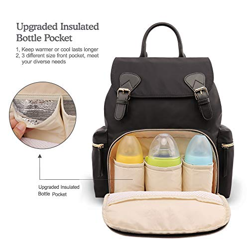 Buy diaper bag with insulated pockets