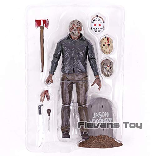 WOIA Friday The 13Th Part V 5 A New Beginning Jason Leatherface Chainsaw Dy Krueger Pennywise PVC Action Figure Toy Doll Gift New Must Haves Friendship Gifts Girl S Favourite Superhero Party Favors