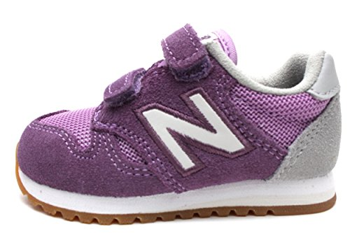 New Balance Girls' KA520 Hook and Loop Sneaker, Purple/Whi, 5 Medium US Infant by New Balance