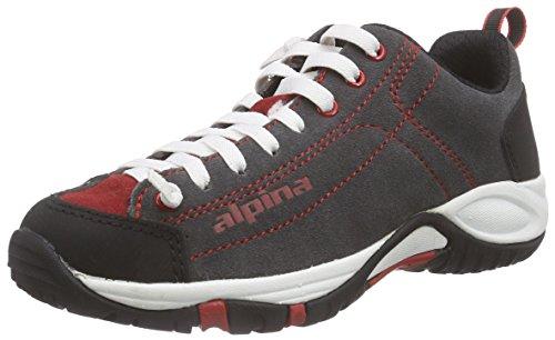 Gray alpina Red Erwachsene 680341 Rot Wanderhalbschuhe amp; Trekking Unisex 7R74wq0