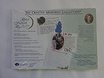 Amazon com: Creative Memories 5 x 7 Ruled Scrapbook Pages 5