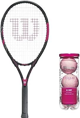 Wilson Hope Adulto Prestrung Raqueta de Tenis Paquete con ...