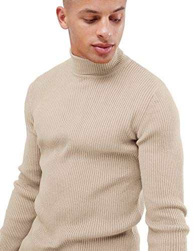 bd23a77100bb Daupanzees Mens Casual Basic Thermal Turtleneck Slim Fit Pullover Thermal  Sweaters