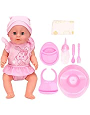 Cute Electric Doll Toy, Children Doll Toy, Baby Doll Toy, Drink Water for Kids Girls Gift Children Boys(SY011-1 color box version)
