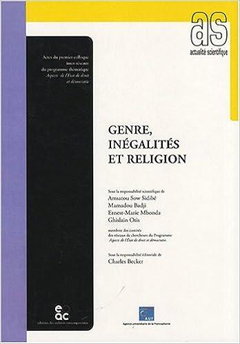 En ligne téléchargement Genre, inégalités et religion pdf