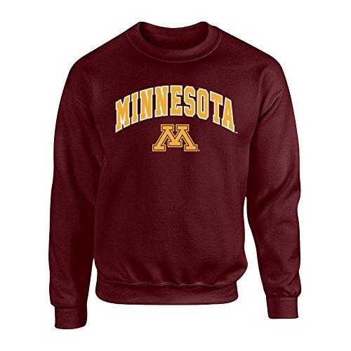 Minnesota Golden Gophers Crewneck Sweatshirt Arch Maroon - XL