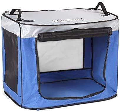 CoolerDog Pup-Up Pop Up Dog Shade Tent Kennel, Portable Sun Protection for Your Pet