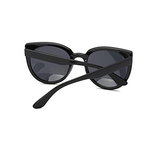 Aoligei Version européenne féminin tendance gros frame lunettes de soleil de la mode anti-UV cIeV6ul