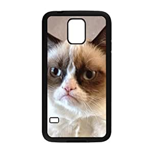 Cat Design Fashion Comstom Plastic case cover For Samsung Galaxy S5