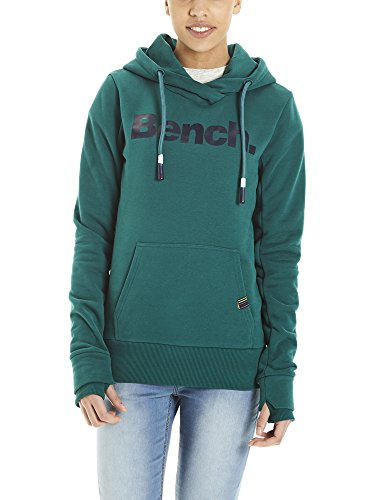 Bench Her. Corp Print Hoody, Capucha para Mujer Gris (Storm Gr251)