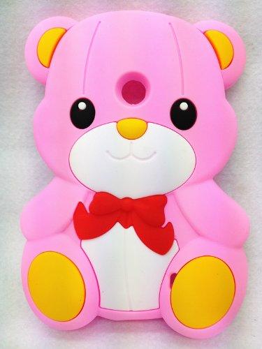 Cute Lovely Teddy Bear Soft Case Cover For Nokia Lumia 520