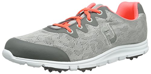 FootJoy Women's Enjoy Golf Shoes Grey Mist Size 8 M US